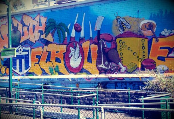 South Melbourne Market Graffiti