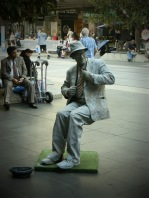 STREET ENTERTAINER, BOURKE ST