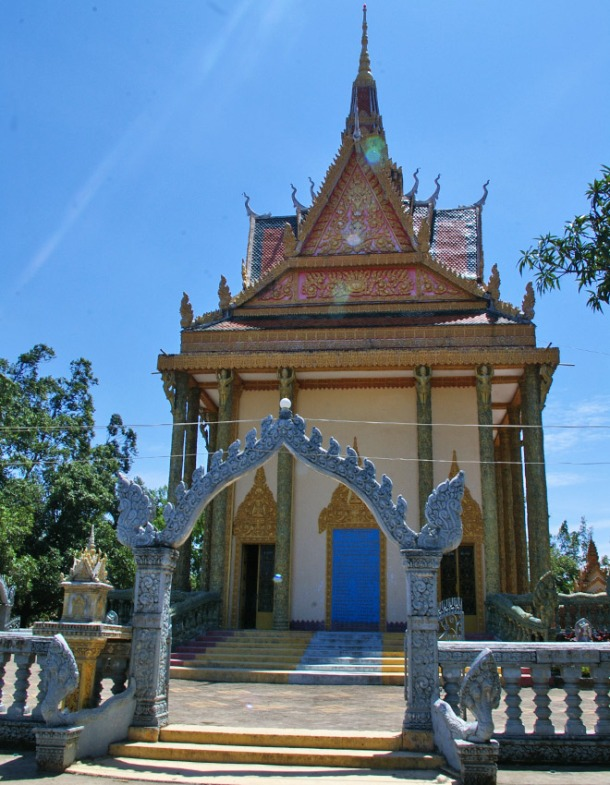 Beautiful temples of Kampot, Cambodia